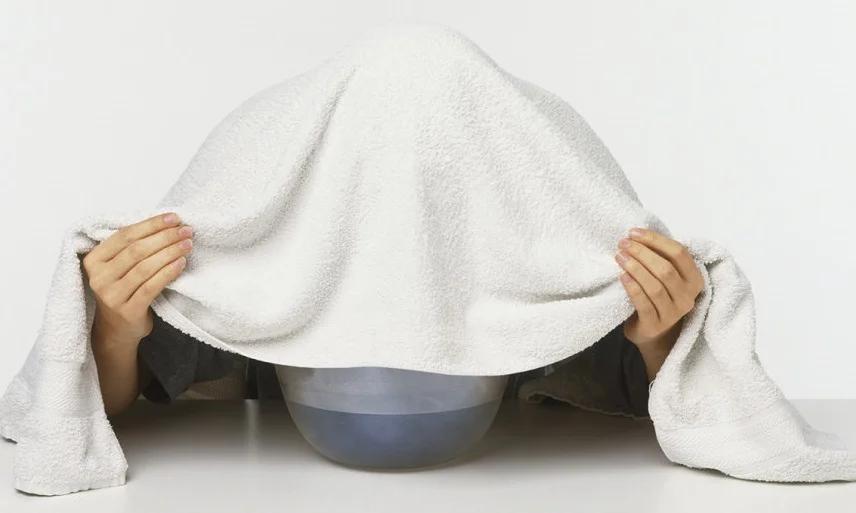 بخور نعناع برای سرماخوردگی جوش پوست صورت