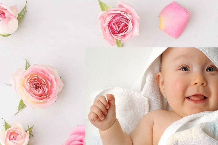 خواص گلاب برای کودکان و نوزادان