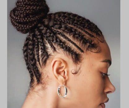 آموزش مدل بافت مو آفریقایی